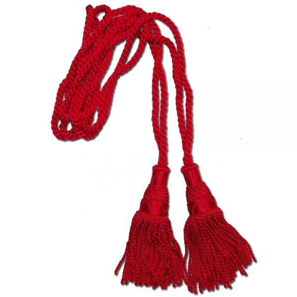Red silk cord